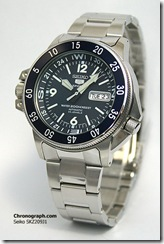 """Made in Japan"" text on the dial differs the SKZ209J from the more common SKZ207K"