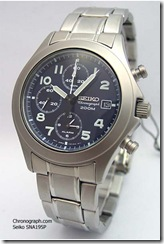 SNA195P (stainless steel, blue)