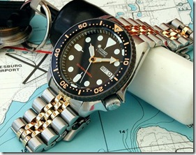 ray k thumbSeiko SKX007J Divers 200m review