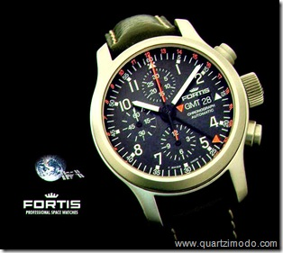 Fortis B42 GMT automatic