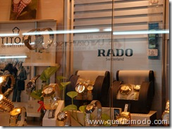 Titoni and Rado timepieces