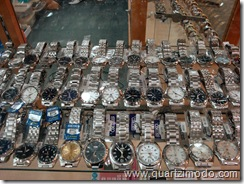 Pic 6: Seiko 5s get their own display rack