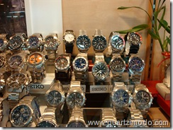 Pic 2: Contemporary Seiko watches