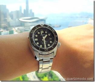 SBDX001 on wrist